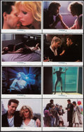 """Movie Posters:Drama, 9 ½ Weeks (MGM, 1986). Lobby Card Set of 8 (11"""" X 14"""") and Presskit (9"""" X 11.5""""). Drama.. ... (Total: 9 Items)"""