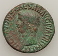 Ancients:Ancient Lots  , Ancients: ROMAN EMPIRE. Lot of two Æ asses of Claudius (2). ...(Total: 2 coins)