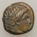 Ancients:Ancient Lots  , Ancients: Lot of three Macedonian Æ (3). ... (Total: 3 coins)