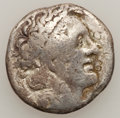 Ancients:Ancient Lots  , Ancients: Lot of two Ptolemaic AR and Æ (2). ... (Total: 2 coins)