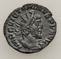 Ancients:Ancient Lots  , Ancients: ROMAN EMPIRE. Lot of two Gallo-Roman Æ antoniniani (2). ... (Total: 2 coins)