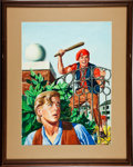 Original Comic Art:Covers, Classics Illustrated #139 In the Reign of TerrorPainted Cover Original Art (Gilberton, 1957)....
