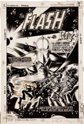 Original Comic Art:Covers, Keith Giffen and Romeo Tanghal The Flash #310 Dr. Fate CoverOriginal Art (DC, 1982)....
