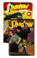Pulps:Detective, Shadow Pulp and Comic Group (Street & Smith, 1940-43)Condition: Average GD/VG.... (Total: 2 Items)