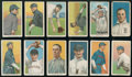 Baseball Cards:Lots, 1909-11 T206 White Borders Collection (12 different)....