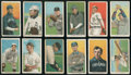 Baseball Cards:Lots, 1909-11 T206 White Borders Collection (12 different). ...