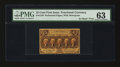 Fractional Currency:First Issue, Fr. 1279 25¢ First Issue PMG Choice Uncirculated 63.. ...