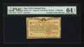 Colonial Notes:New York, New York August 2, 1775 (Water Works) 2s PMG Choice Uncirculated 64EPQ.. ...