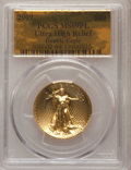 Modern Bullion Coins, 2009 $20 Ultra High Relief MS69 Prooflike PCGS. Double Eagle. PCGSPopulation (197/54). (#506602)...