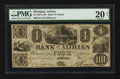 Obsoletes By State:Michigan, Adrian, MI- Bank of Adrian $4 Nov. 1, 1841 G8a Lee 8. ...