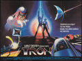 "Movie Posters:Science Fiction, Tron (Buena Vista, 1982). British Quad (30"" X 40""). ScienceFiction.. ..."