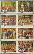 """Movie Posters:Musical, The Music Man (Warner Brothers, 1962). Lobby Card Set of 8 (11"""" X 14""""). Musical.. ... (Total: 8 Items)"""