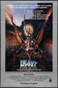 """Movie Posters:Animated, Heavy Metal (Columbia, 1981). One Sheet (27"""" X 41"""") Advance. Animated.. ..."""
