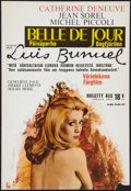 """Movie Posters:Foreign, Belle de Jour (Kino, 1967). Finnish Poster (16.5"""" X 24""""). Foreign.. ..."""