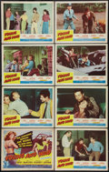 "Movie Posters:Bad Girl, Young and Wild (Republic, 1958). Lobby Card Set of 8 (11"" X 14"").Bad Girl.. ... (Total: 8 Items)"