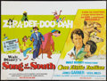 "Movie Posters:Animated, Song of the South/One Little Indian Combo Lot (Walt Disney,R-1973). British Quads (2) (30"" X 40""). Animated.. ... (Total: 2Items)"