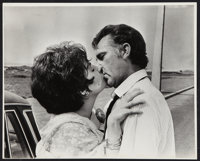 """Richard Burton & Elizabeth Taylor in """"The Comedians"""" by Virgil Apger (MGM, 1967). Exhibition Photo (16&quo..."""