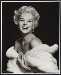 "Eva Gabor by Virgil Apger (MGM, 1950s). Exhibition Portrait Photo (16"" X 20""). Miscellaneous"