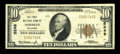 National Bank Notes:Oklahoma, Norman, OK - $10 1929 Ty. 1 The First NB Ch. # 5248. ...