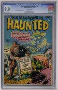 Golden Age (1938-1955):Horror, This Magazine Is Haunted #8 (Fawcett, 1952) CGC VF/NM 9.0 Off-whitepages....