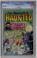 Golden Age (1938-1955):Horror, This Magazine Is Haunted #6 (Fawcett, 1952) CGC VF/NM 9.0 Off-whiteto white pages....