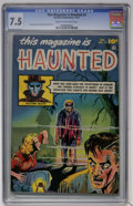 Golden Age (1938-1955):Horror, This Magazine Is Haunted #2 (Fawcett, 1951) CGC VF- 7.5 Cream tooff-white pages....