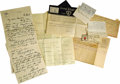 Movie/TV Memorabilia:Memorabilia, Marian Marsh's Love Letters from Actors Edmund Lowe and Bobby Howes. A group of eight love letters, telegrams and notes from... (Total: 1 Item)