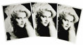"Movie/TV Memorabilia:Photos, Anna Nicole Smith Early Photos. Three copies of a breathtakingb&w 8"" x 10"" headshot of Anna Nicole, taken by photographerE... (Total: 1 Item)"