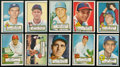 Baseball Cards:Lots, 1952 Topps Baseball Collection (33 Different). ...
