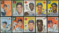 Baseball Cards:Lots, 1954 Topps Baseball Collection (41 Different) With Williams. ...