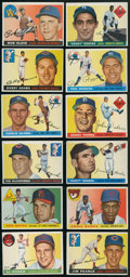 Baseball Cards:Lots, 1955 Topps Baseball Collection (88 Different). ...