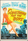 """Movie Posters:Musical, Something for the Boys (20th Century Fox, 1944). One Sheet (27"""" X 41""""). Musical.. ..."""