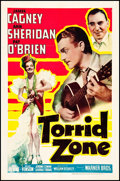 "Movie Posters:Adventure, Torrid Zone (Warner Brothers, 1940). One Sheet (27"" X 41"").Adventure.. ..."
