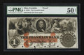 Obsoletes By State:Ohio, Franklin, OH- The Franklin Bank $1 G4a Wolka 1120-03 Proof. ...