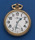 Timepieces:Pocket (post 1900), Ball 21 Jewel Grade 999 B Official Standard. ...
