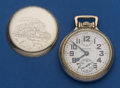 Timepieces:Pocket (post 1900), Waltham 23 Jewel Vanguard Pocket Watch With Wind Indicator . ...