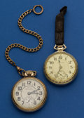 Timepieces:Pocket (post 1900), Two Pocket Watches - Hamilton 19 Jewel 996 And A 992 B For Restoration. ... (Total: 2 Items)