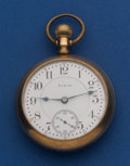 Timepieces:Pocket (post 1900), Elgin 21 Jewel 18 Size Father Time Pocket Watch. ...