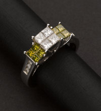 Fancy Colored Diamond Ring
