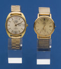 Timepieces:Wristwatch, Two Omega Wristwatches For Repair. ... (Total: 2 Items)