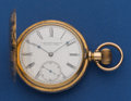 Timepieces:Pocket (pre 1900) , E. Howard & Co. Boston No. 44401 Series IV - N. Size 18k Gold Hunter's Case Pocket Watch. ...
