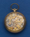 Timepieces:Pocket (post 1900), Dudley Masonic Model 2 Pocket Watch. ...
