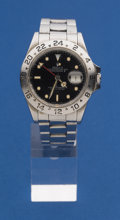 Timepieces:Wristwatch, Rolex Reference 16550 Exployer II Number 8399471 Wristwatch. ...