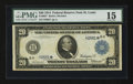 Large Size:Federal Reserve Note, Fr. 992* $20 1914 Federal Reserve Note PMG Choice Fine 15.. ...