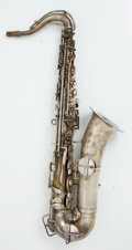 Musical Instruments:Horns & Wind Instruments, Frank Holton C Melody Saxophone Nickel #9854....