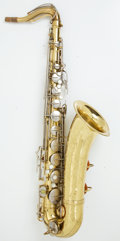 Musical Instruments:Horns & Wind Instruments, Conn 10 M Brass / Nickel Tenor Saxophone #655298....