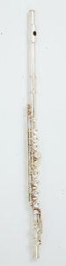 Musical Instruments:Horns & Wind Instruments, 1970's Gemeinherdt M2 Silver Plated Flute #D32451....