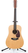 Musical Instruments:Acoustic Guitars, 2006 Martin D12X1 Natural 12 String Acoustic Guitar #1180173....
