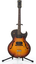 Musical Instruments:Electric Guitars, 1950's Gibson ES225-TD Sunburst Semi-Hollow Body Electric Guitar #N/A....