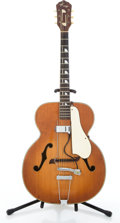 Musical Instruments:Acoustic Guitars, Vintage Kay Natural Archtop Acoustic Guitar #N/A....